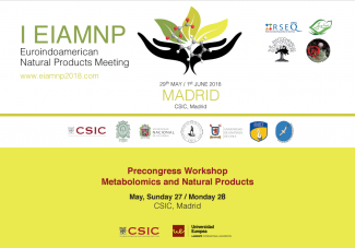 Euroindoamerican Natural Products Meeting, CSIC Madrid,