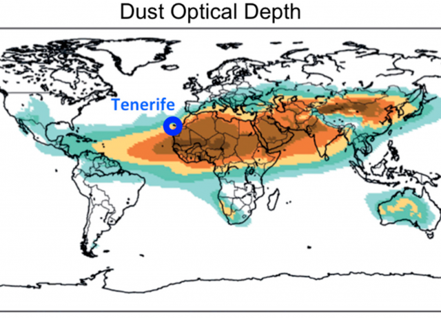 Saharan Dust Events